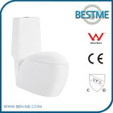 Foshan P Trap Washdown Flushing One Piece Wc Toilet (BC-1003A)