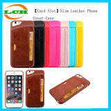 Card Slot Slim Leather Phone Back Cover Case for iPhone7/6s/6