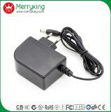 12V2000mA AC/DC EU Plug Power Adapter with Ce Certificate