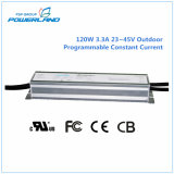 120W 3.3A 23~45V Outdoor Programmable Constant Current Waterproof LED Driver