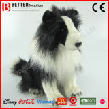 ASTM Lifelike Stuffed Animal Soft Toy Plush Border Collie Dog