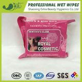 Flushable Cosmetic China OEM Wet Wipes