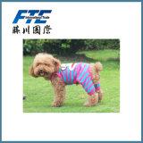 Printing Winter Dog Clothes Pet Warm Sports Jumpsuit