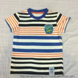 Fashion Boy Colorful Strip T-Shirt in Kids Clothes Sq-6330