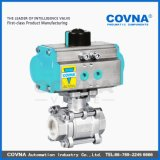 Approved Dn25 Stainless Steel Pneumatic Actuated Ball Valve