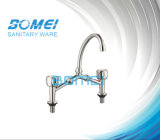 Dual Handle Wash Basin Faucet (BM65003)