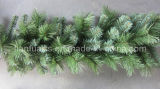 9′ PVC Christmas Green Pine Garland