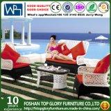 Aluminium Frame Outdoor Wicker Rattan Furniture 4PCS Sofa (TG-1288)