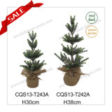 2017 H1FT Indoor Merry Christmas Light Decorative PE Mini Christmas Tree