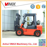 Supply Vmax 3 Ton LPG/Gas Engine Power Pullet Forklift Truck Cpqy35 with Free Toolbox