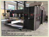 Fully Automatic 6 Color Printing Slotting Gluing Counter Ejector Machine