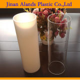 Transparent or Milky Acrylic Tube for Lamp Shade