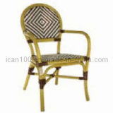Aluminum Wicker Bamboo Dining Chair (BC-08012)