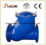 Ductile Iron Flanged Rubber Ball Check Valve Pn16