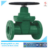 The Largest Valve Manufacture Wholesale Cast Iron BS5163 Resilient Seat Non-Rising Stem Gate Valve Bct-Gv05