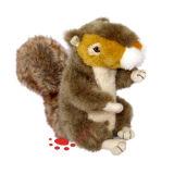 Plush Faux Fur Squirrels Toy