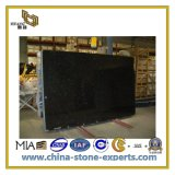 Natural Stone Polished Shanxi Black Granite Vanity Top (YQC)