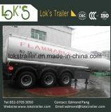 30 Cbm 3 Axles Petrol Tanker Trailer