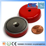 29lbs Pull AlNiCo Magnetic Round Base Pot Magnet