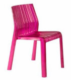 Frilly Chair, Crystal Chair, Clear Chair (40510)