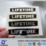 Metallic Silver Label Sticker (SZ3174)