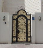 Middle-East Decorative High Quality Steel Main Entrance Gate