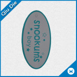 Oval-Shaped Clothing Label Hang Tag with Custom Printing