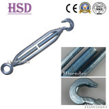 Rigging Hardware Commercial Malleable Iron Steel Turnbuckle with Hook Eye
