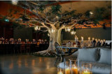 Customized Fiberglass Artificial Tree for Indoor Decoration