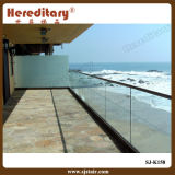 Frameless Glass Railing for Balcony Near The Sea (SJ-K158)