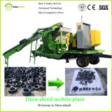 Dura-Shred Sales Promotion Mobile Recycling Plant for Waste Tire