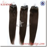100% Human Hair Mirco Ring Loops Extension Straight Top Quality