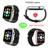 Fashion/Digital/Bluetooh Smart Wrist Watch with Heart Rate Monitor Gt88