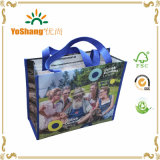 Customized Laminated Eco Fabric Tote Non-Woven Shopping Bag, Recyclable PP Non Woven Bags