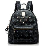 2016 High Quality Punk Stylish Fashion Leather Women Backpack