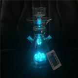 Blue Light of Glass Hookah