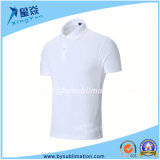 White Color Quick-Dry Polo Tshirt for Wholesale