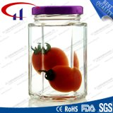 Round and Clear High Quality Glass Jar for Jam (CHJ8246)