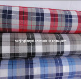 Cotton Yarn Dyed Woven Twill Check Fabric (LZ5895)
