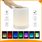 Portable Bluetooth Music Speaker Smart Touch Night Light Color Changing