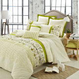 4 Piece Embroidery Nandic Summer Bedding Sets