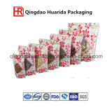 Nuts Plastic Packaging Bag/Resealable Nuts Stand up Bag with Zipper