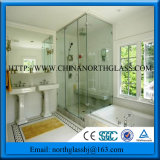 10mm 12mm Thickness Clear Glass Panel Show Door Glass