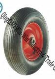 """Wear-Resistant Pneumatic Rubber Wheel for Wheelbarrow Tire (16""""X480/4.00-8)"""
