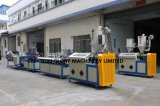 Single Screw Polycarbonate Light Tube Plastic Extruding Manufacturing Equipment