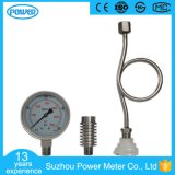 100mm Stainless Steel Case Pressure Gauge with Radiator Condenser Pipe