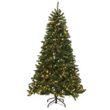 7.5 FT. North Valley Spruce Artificial Christmas Tree with 500 9-Function LED Lights (MY100.087.00)