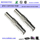 Straight BNC Connector BNC Male Spring Wire Coax Connector
