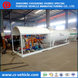 Chusheng Factory 10 M3 LPG Filling Plant 5 Tons LPG Gas Station 10000 Liters LPG Skid Station with Dispenser