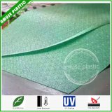 Green PC Panels Easy Assembled Polycarbonate Big Embossed Sheets Low Price